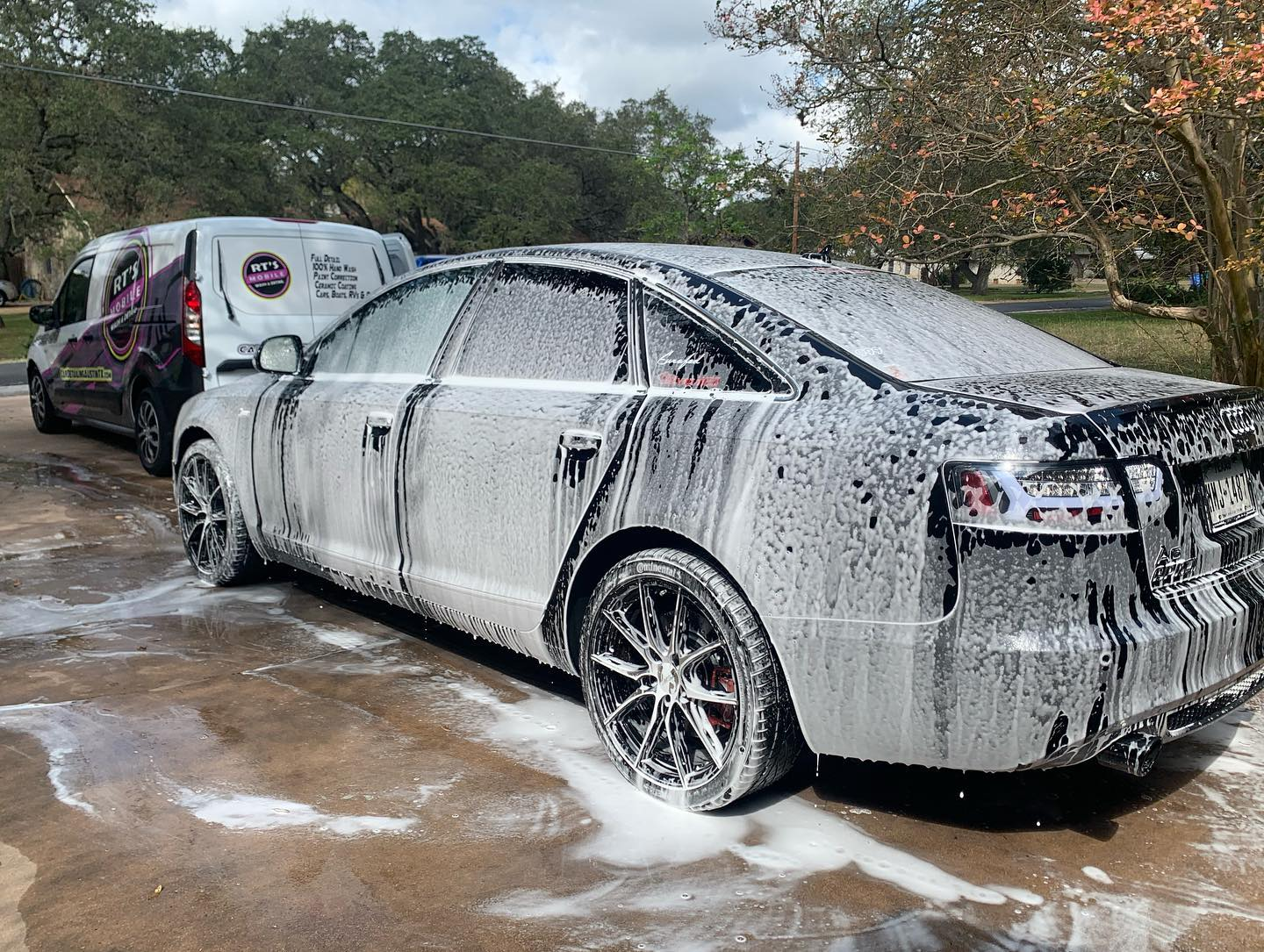Foam Cannon Audi