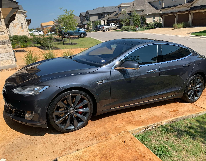 Tesla Exterior Detail